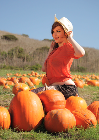 Pumpkin Patch Flirtatiousness