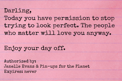 Image: your permission slip
