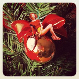 Pin-up Girl Christmas Ornaments! Shop Online Here: